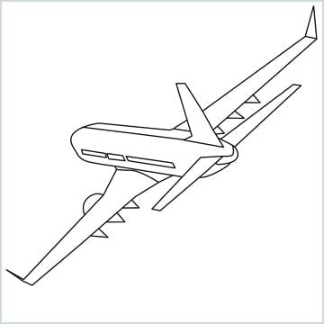 Draw a Airplane