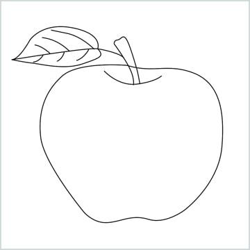 Draw a Apple