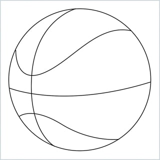 Draw a Basketball