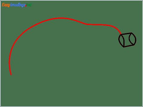 How To Draw A Easy Papaya Step (3)