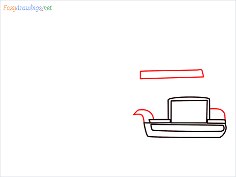 How To Draw A Heavy Truck Step (4)