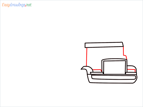 How To Draw A Heavy Truck Step (5)