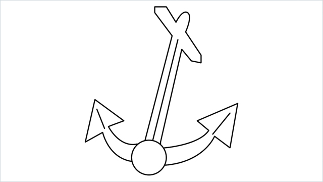 How To Draw Anchor