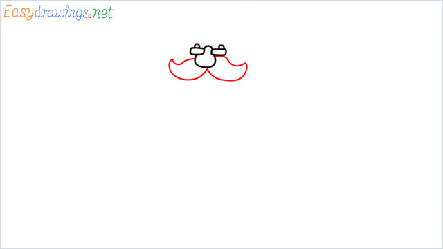 How To Draw Easy Santa Claus Step (3)