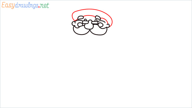 How To Draw Easy Santa Claus Step (6)