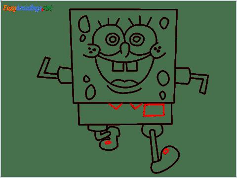 How To Draw Spongebob Step (10)