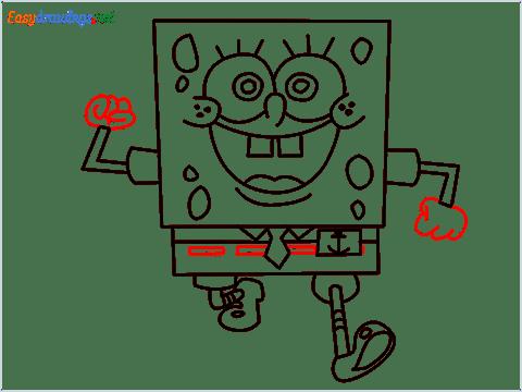 How To Draw Spongebob Step (13)