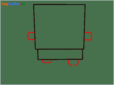 How To Draw Spongebob Step (3)