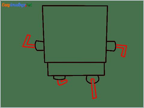 How To Draw Spongebob Step (4)