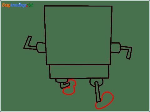 How To Draw Spongebob Step (5)