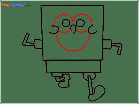How To Draw Spongebob Step (7)