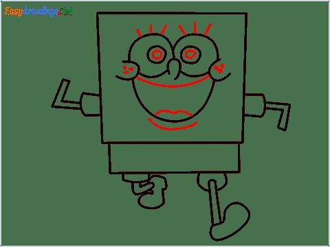 How To Draw Spongebob Step (8)