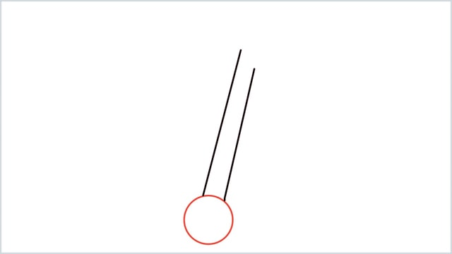 How To Draw an Anchor Step 2