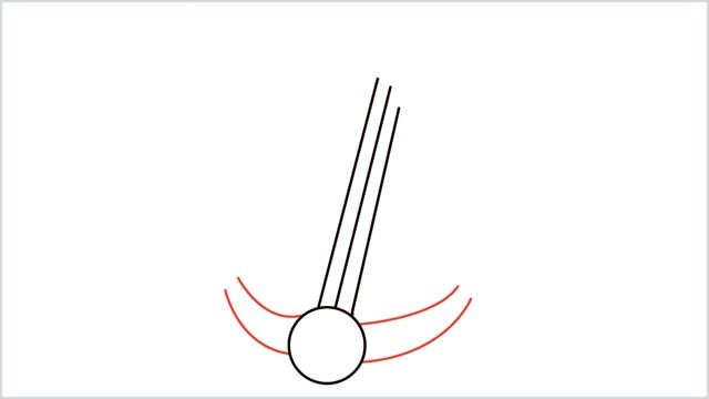 How To Draw an Anchor Step 4