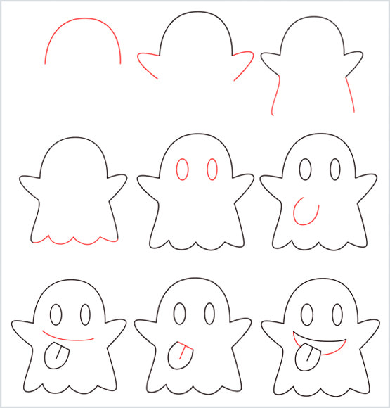 How to draw a Ghost overview