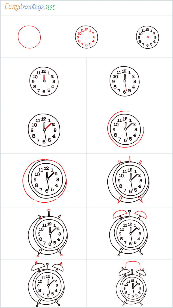 Overview added for Clock drawing