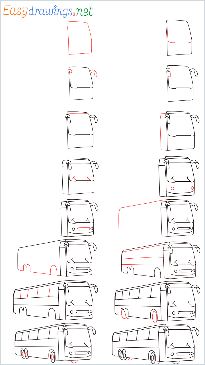 Overview of Bus Drawing all in one Guide1