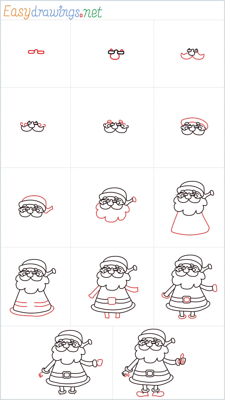 Santa Claus Drawing Overview