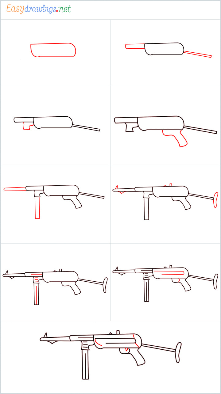 all outline for ump9 drawing example