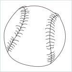 draw a baseball