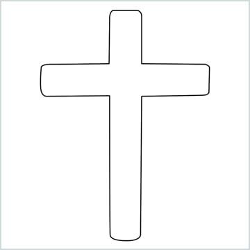 draw a cross