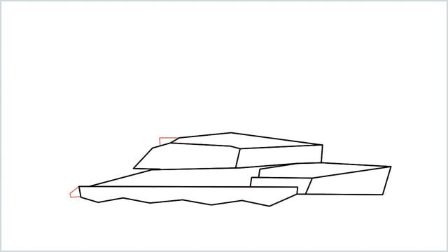 how to draw a army tank step (7)