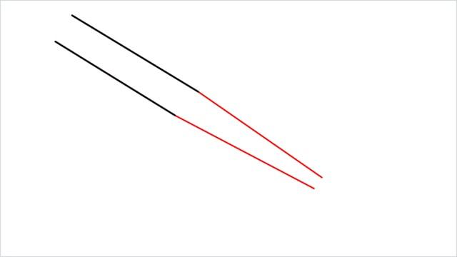 how to draw a baseball bat step (2)