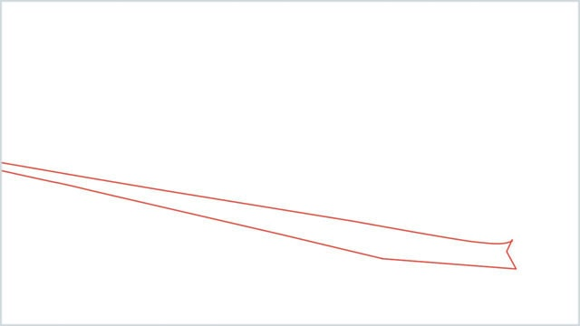 how to draw a bullet train step (1)