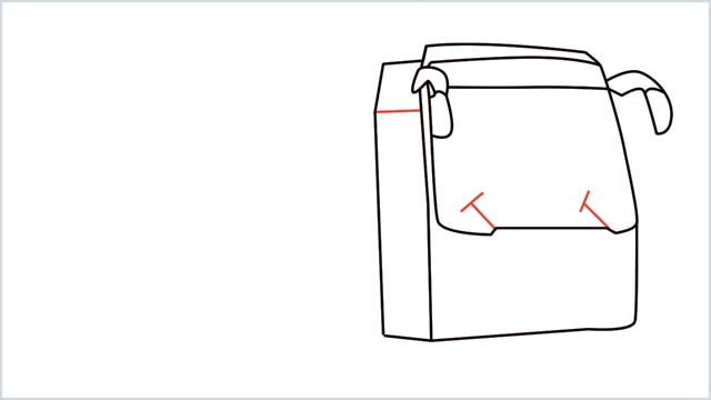 how to draw a bus Step (7)