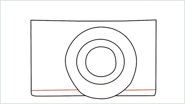 how to draw a camera step (3)