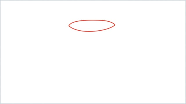 how to draw a candle step 1