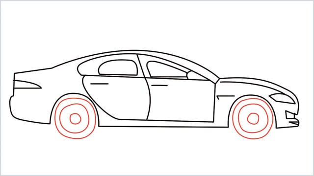 how to draw a car step (12)