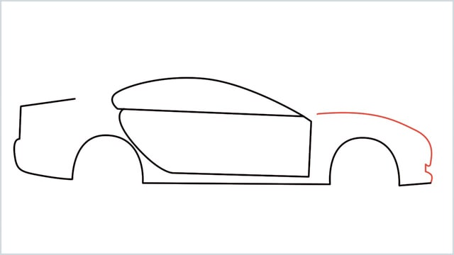 how to draw a car step (6)