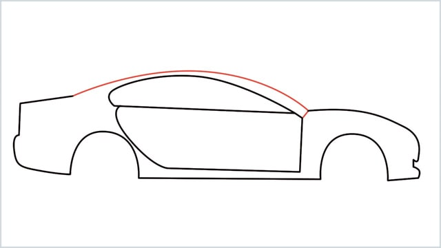 how to draw a car step (7)