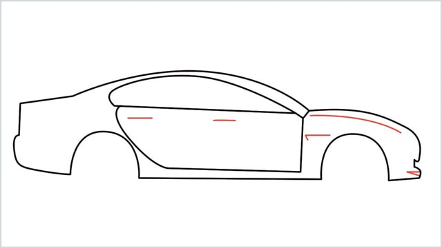 how to draw a car step (8)