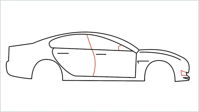 how to draw a car step (9)
