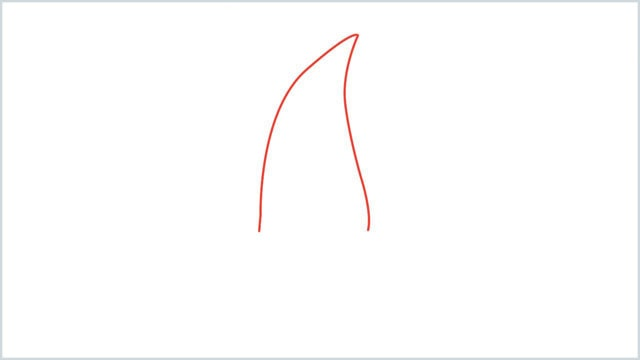 how to draw a cherry step (1)