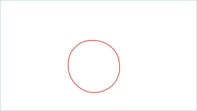 how to draw a clock step (1)