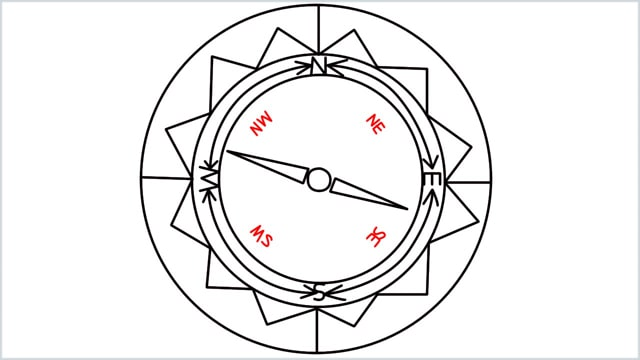 how to draw a compass step (10)