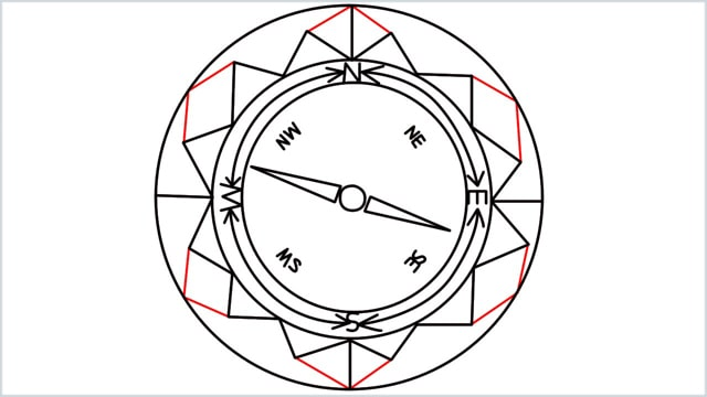 how to draw a compass step (11)