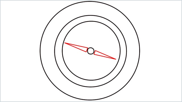 how to draw a compass step (4)