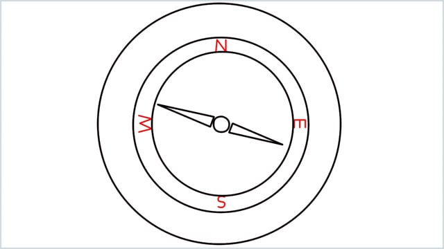 how to draw a compass step (5)