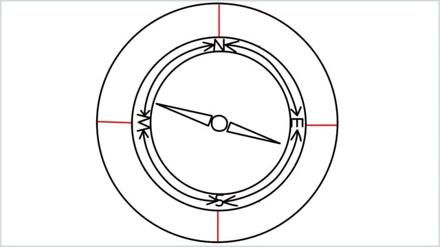 how to draw a compass step (8)