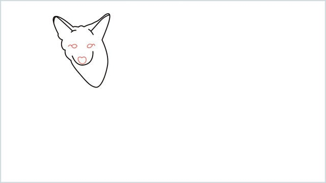 how to draw a coyote step (5)