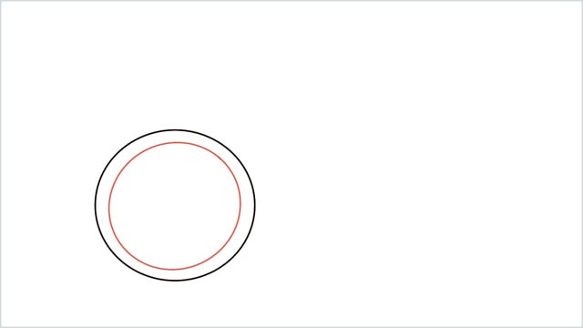 how to draw a cycle step (2)