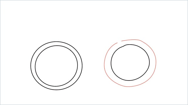 how to draw a cycle step (4)