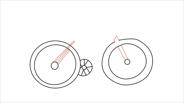 how to draw a cycle step (7)
