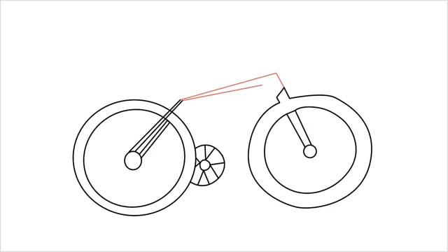 how to draw a cycle step (8)