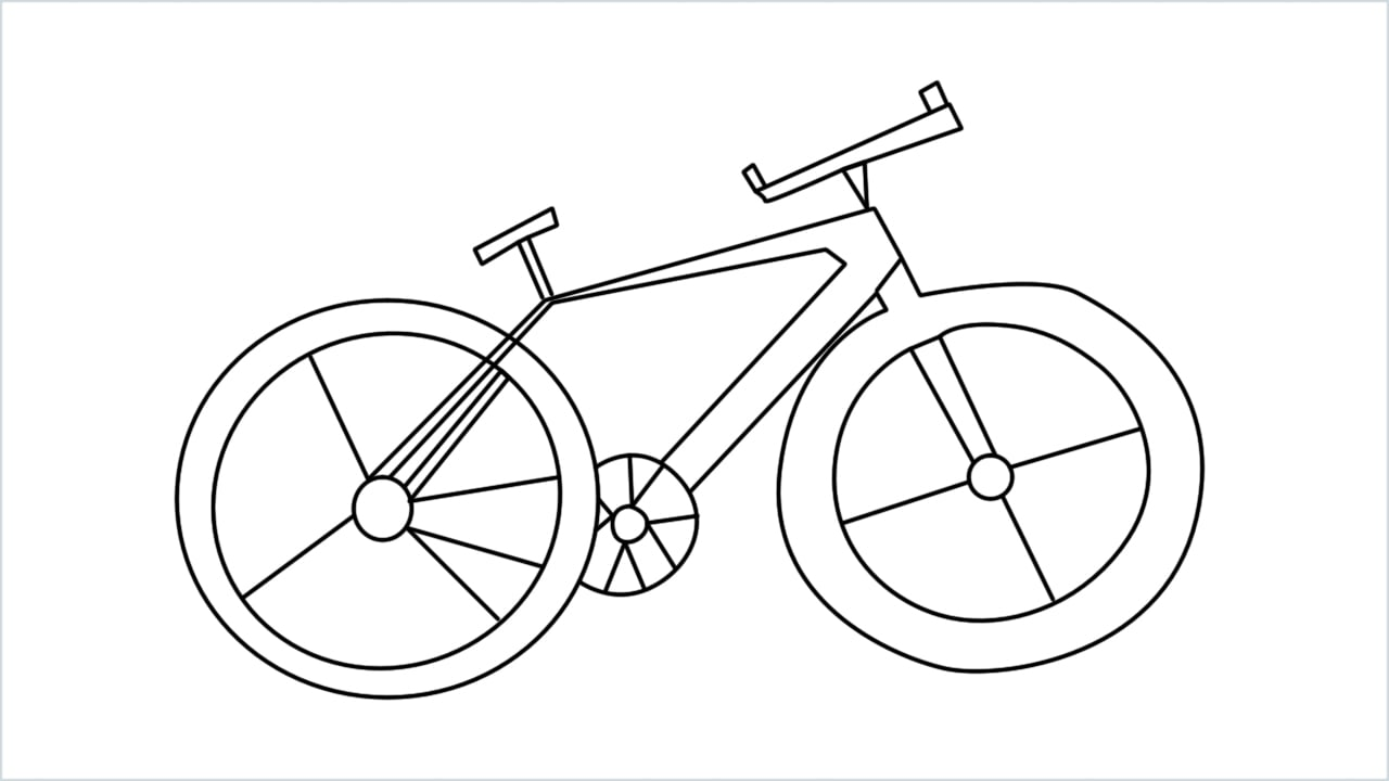 how to draw a cycle