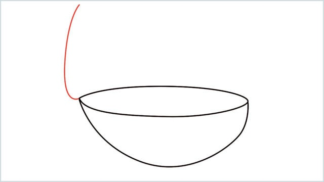 how to draw a diya step (4)